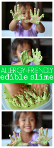 Allergy-Friendly Edible Slime for Toddlers