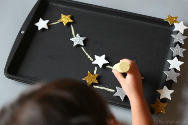 DIY constellation activity travel