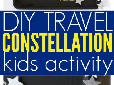 DIY travel constellation activity for kids