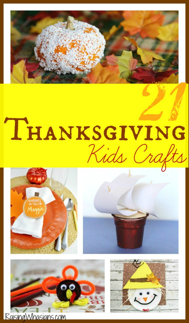 Kids crafts for Thanksgiving