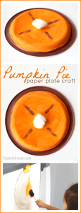 Pumpkin Pie Paper Plate Craft + 71 More Fall Craft Ideas