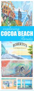 Exploring Cocoa Beach Art Murals with Amopé