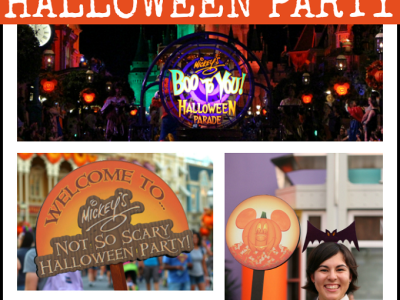 Best family tips Mickey's not so scary Halloween party