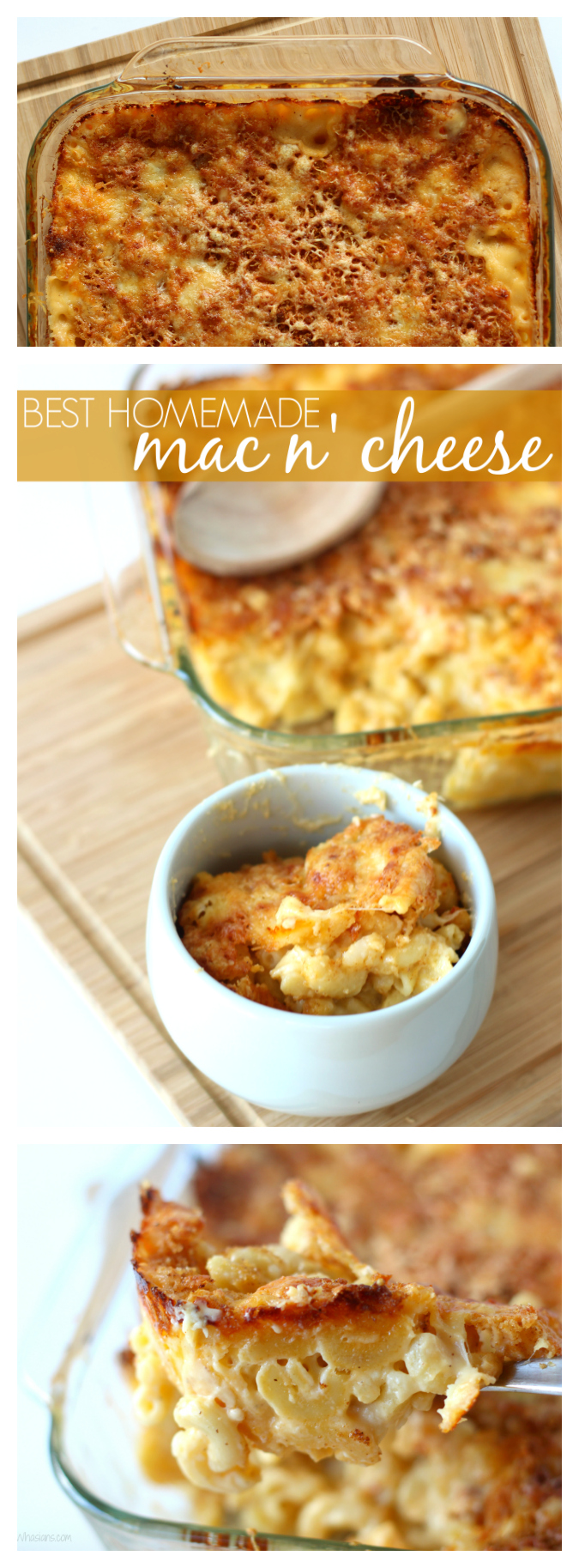 Best homemade mac n cheese pinterest