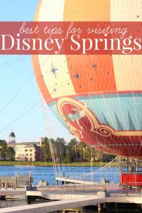 Best tips for visiting Disney springs