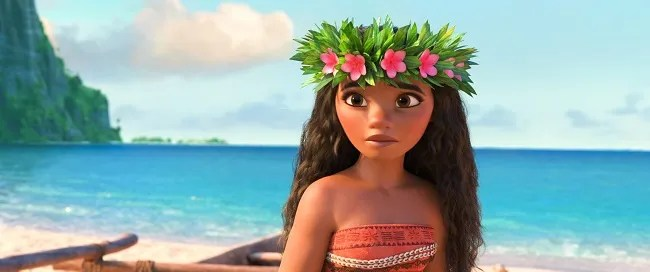Moana movie review safe for children