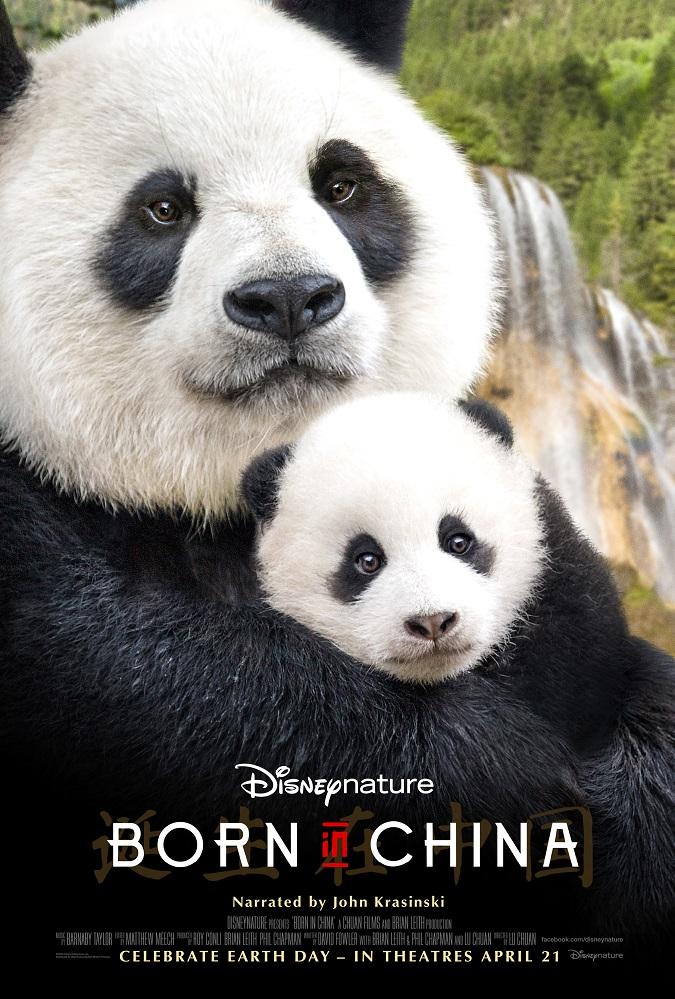 Free Disneynature born in China kids activities