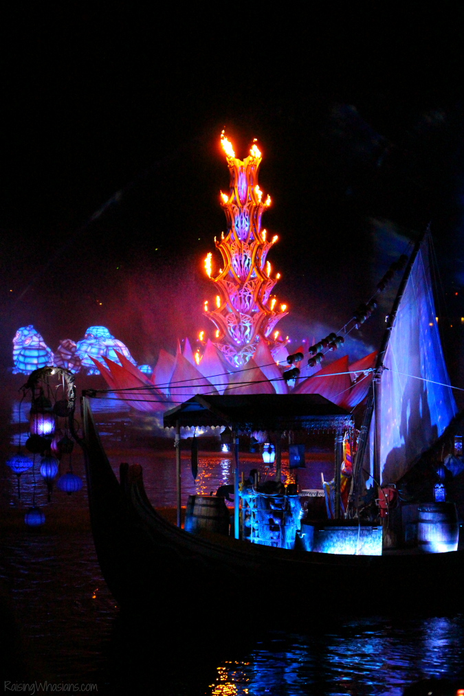 Rivers of light tips