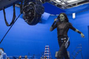 Zoe Saldana Interview | Guardians of the Galaxy Vol. 2 – Gamora After Motherhood #GotGVol2