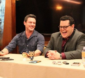 Beauty and the Beast Josh Gad & Luke Evans Interview | No One Makes Trouble Like Gaston #BeOurGuestEvent