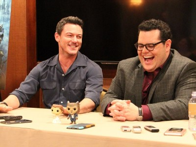 Beauty and the beast Josh Gad Luke Evans interview