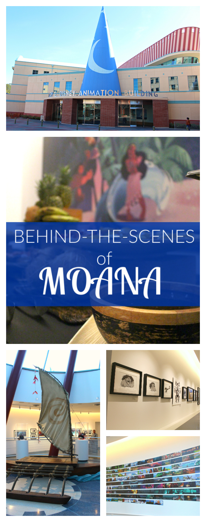 Behind-the-scenes of Moana pinterest