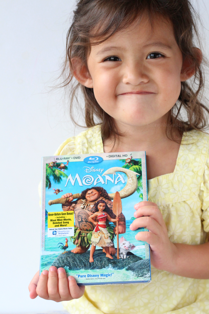Moana blu-ray bonus features