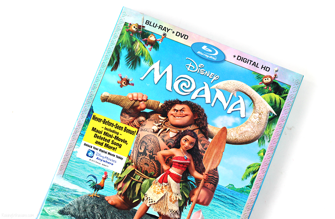 Moana blu-ray now available
