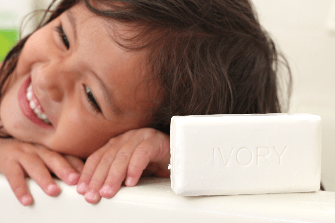 Doctor recommended ivory soap for my child's diagnosis