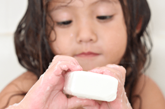 Ivory soap for child skin disease