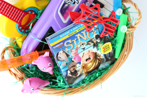 DIY Pig Maracas + Sing Movie Easter Basket Ideas for Preschoolers