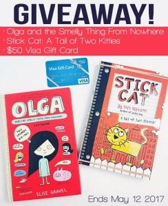 Summer Kids Book Prize Pack + $50 Visa Gift Card GIVEAWAY