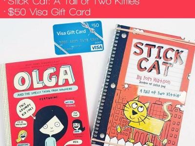 Summer kids book prize pack