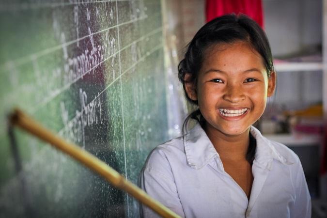 World vision impact sponsored children