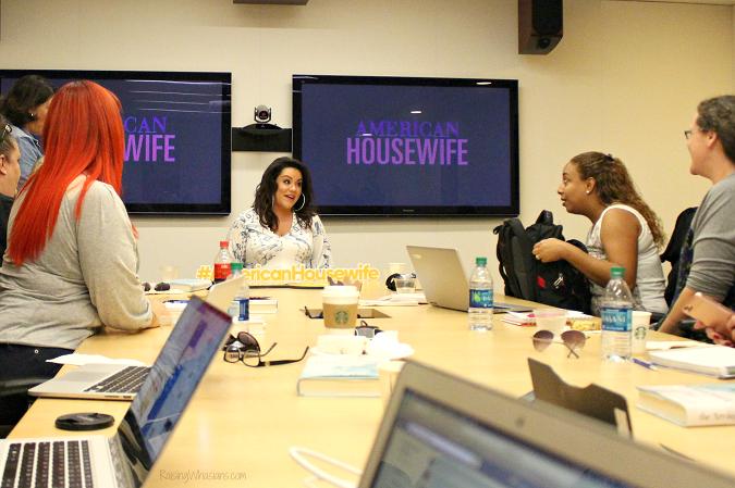 American housewife Katy Mixon interview