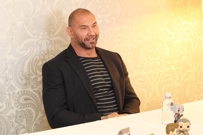 Dave Bautista Drax interview guardians 2