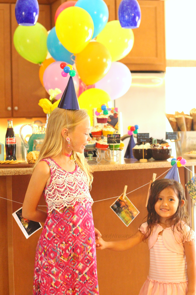 Disney Up Party Ideas + FREE Printable   Join us for a #DisneyKids inspired Disney themed party - food, decor, drinks, crafts, activities & FREE printable #Disney #DisneyParty #PartyPlanning #KidsParty