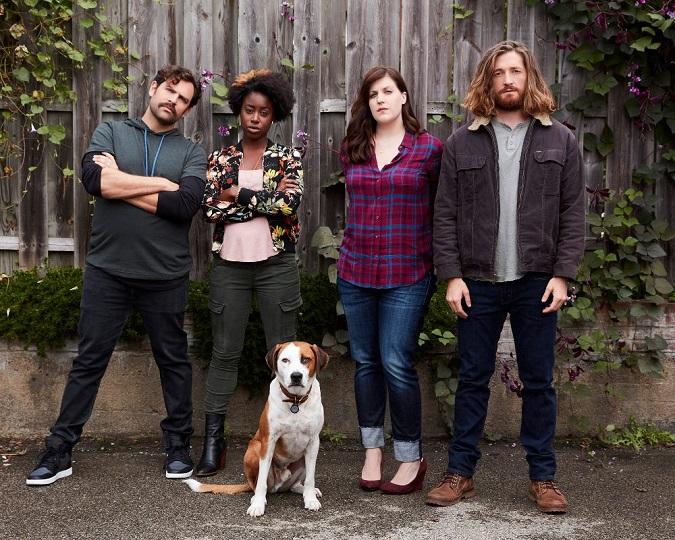 Downward dog interview cast