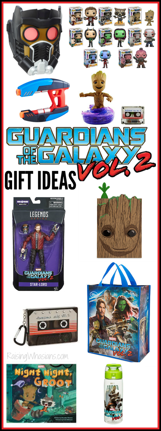 Guardians of the galaxy vol. 2 gift ideas pinterest