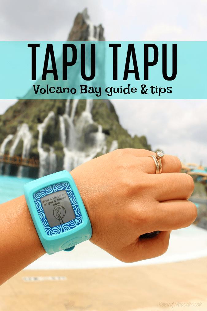 Volcano bay tapu tapu guide