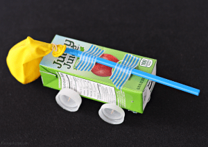 Juice Box Balloon Car Craft with Juicy Juice + Giveaway