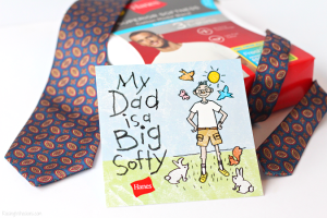 3 Things Dad REALLY Needs for Father's Day with Hanes + $50 Gift Card Giveaway