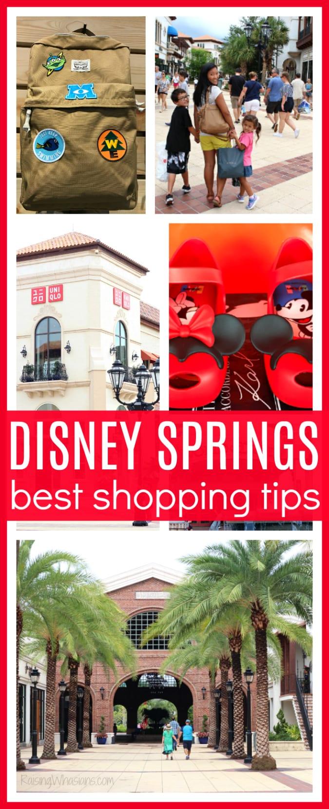 Disney springs shopping tips pinterest