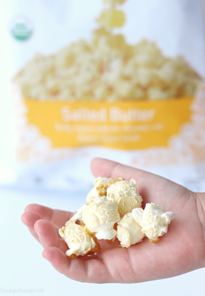 GH Cretors organic salted butter