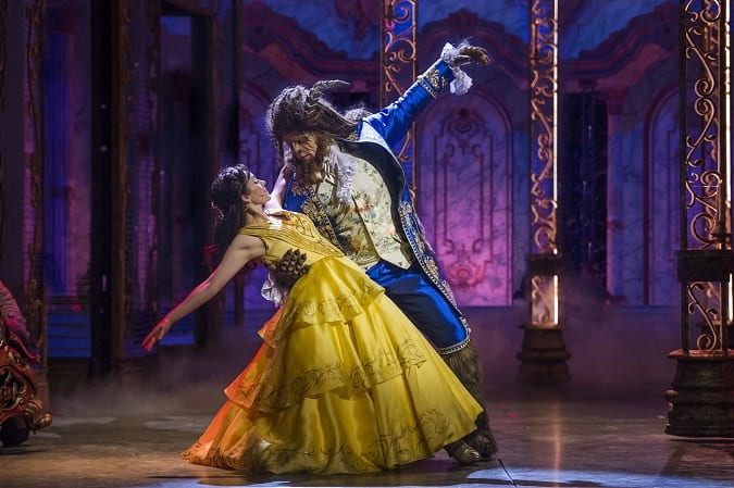 Disney cruise line beauty and the beast stage show parent review