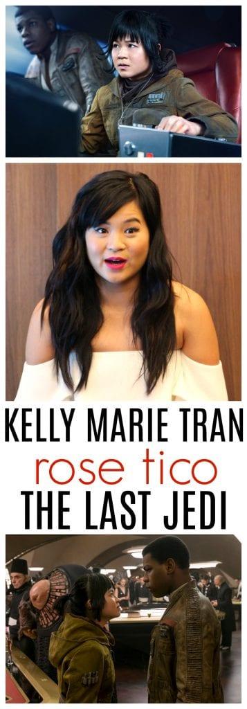 Kelly Marie Tran interview star wars the last jedi