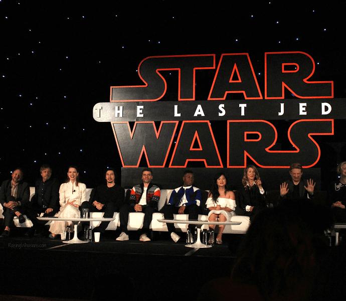Star wars the last jedi press conference