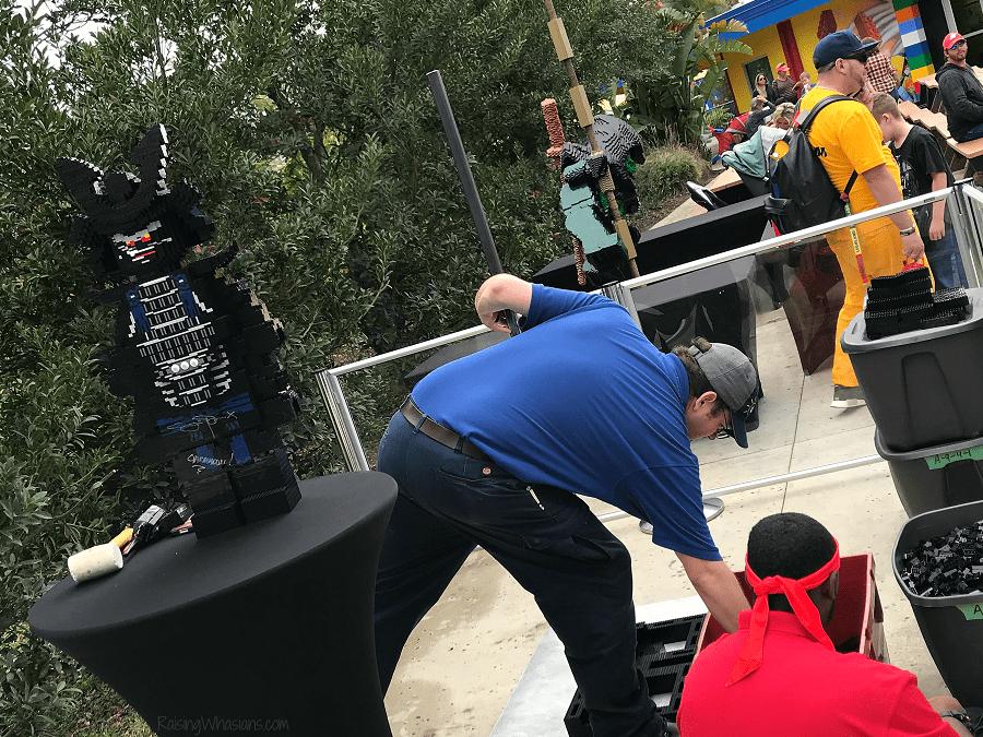 Lego Ninjago days building competition
