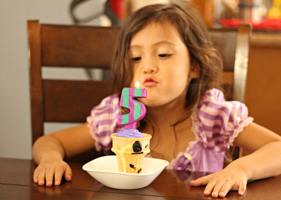 Tangled birthday party on a budget