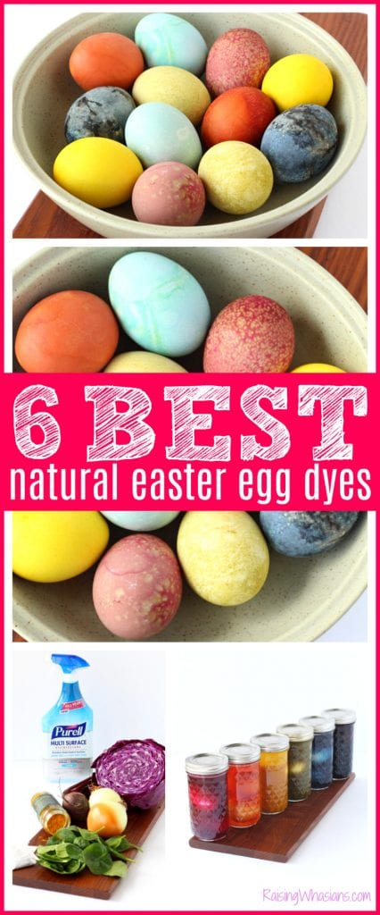 Best all natural egg dyes - 6 Easy Natural Easter Egg Dyes for the Most Vibrant Colors | Want to make your own homemade DIY dye? Here are the best color combos for your eggs using everyday items at home. Allergy-friendly, plant based, easy to make #Easter #EasterDIY #Eastereggs