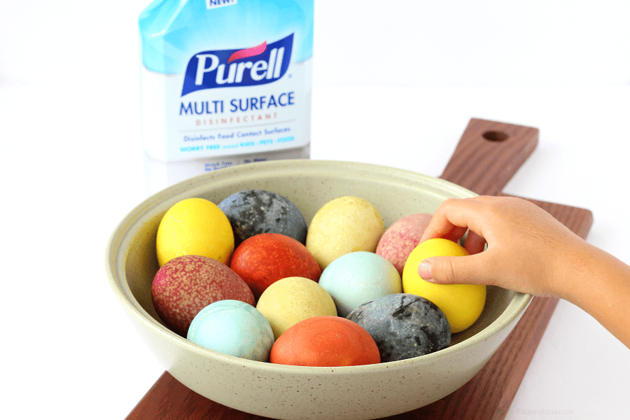 Natural Easter egg dyeing tips