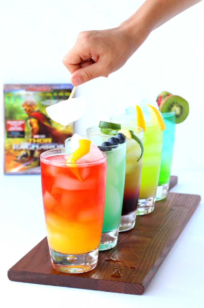 Thor party drink ideas for kids