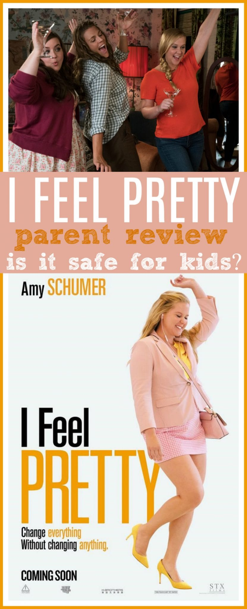 I feel pretty review for kids