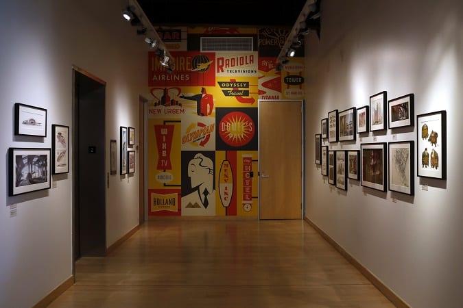Pixar animation studios tour second floor