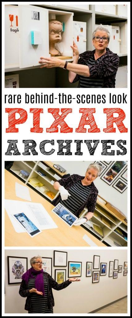 Pixar archives fun facts