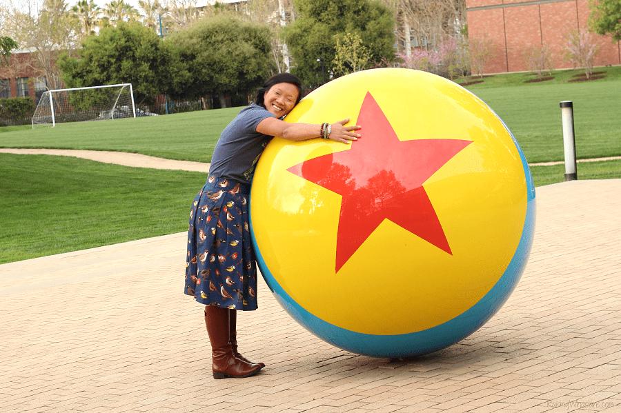 Visiting Pixar animation studios