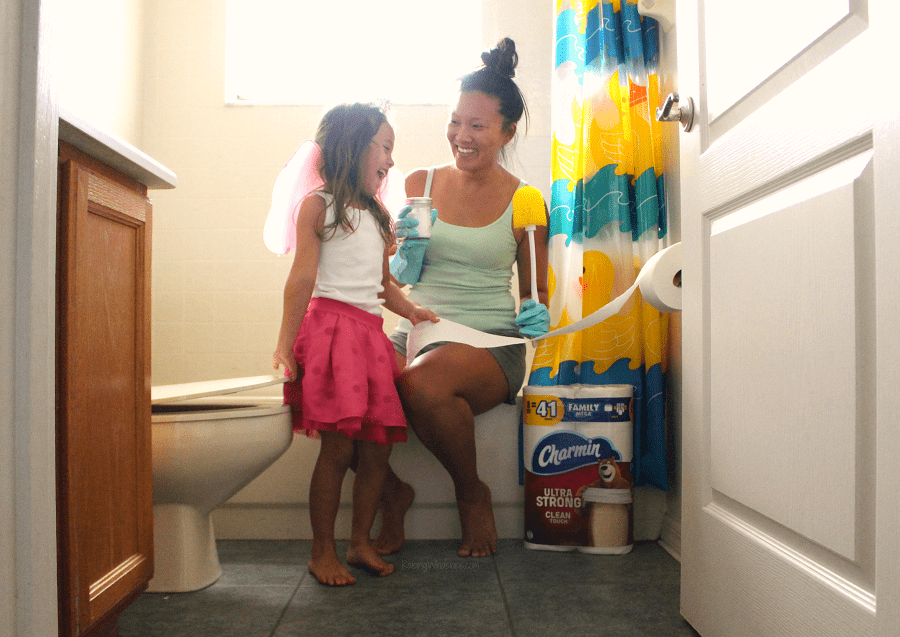 DIY natural toilet cleaner spring cleaning tips