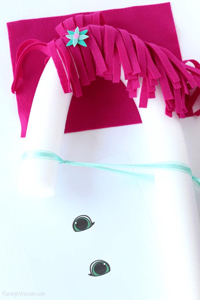 Free printable pool noodle unicorn