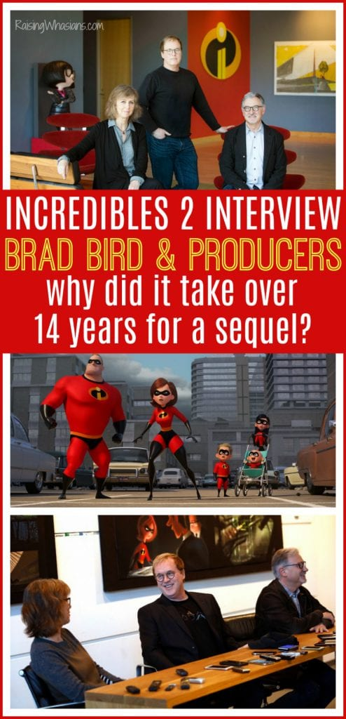 Interview Incredibles 2