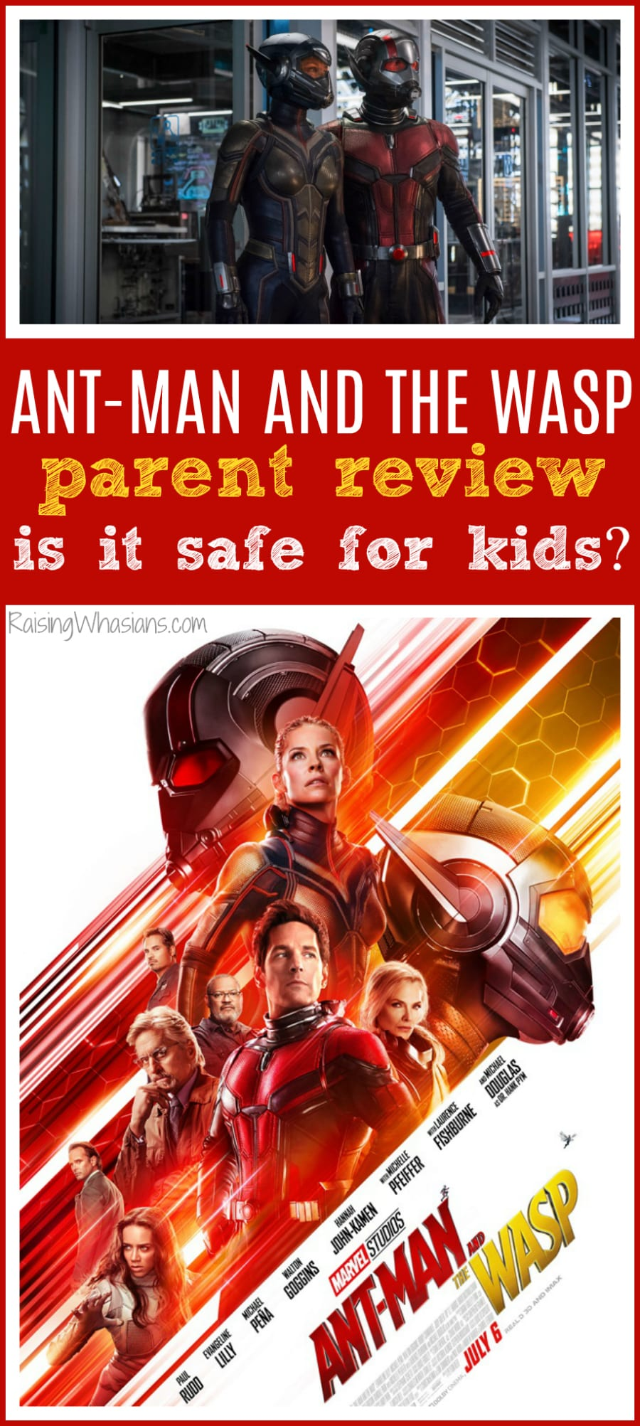 Ant-man and the wasp ok for children